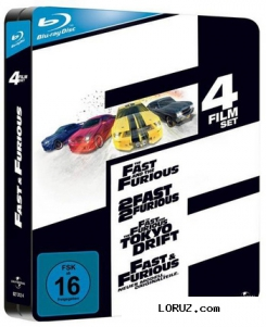 Форсаж. Квадрология / The Fast And The Furious. Quadrilogy (2001-2009) HDRip 720p.