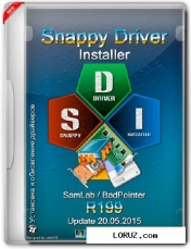 Snappy driver installer r199 update 20.05.2015 (ml/Rus/2015)