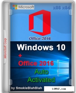 Microsoft windows 10 + office 2016 (x86/X64) 20 in 1 v.14.03.16 (rus/2016)