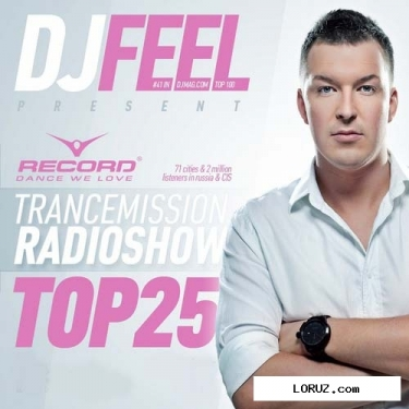 Dj feel - trancemission: top 25 of november 2011 (08-12-2011)